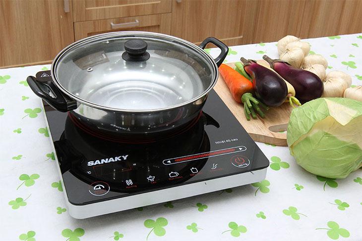 Cách sử dụng và bảo quản bếp hồng ngoại Sanaky